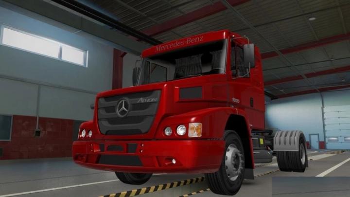 ETS2 - Mercedes-Benz 1635 Atron Truck (1.41.x)