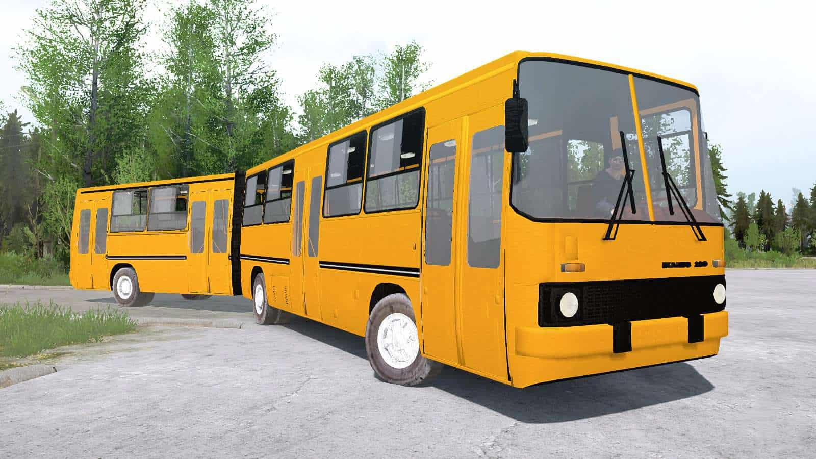 Spintires:Mudrunner - Ikarus 280.06 Bus