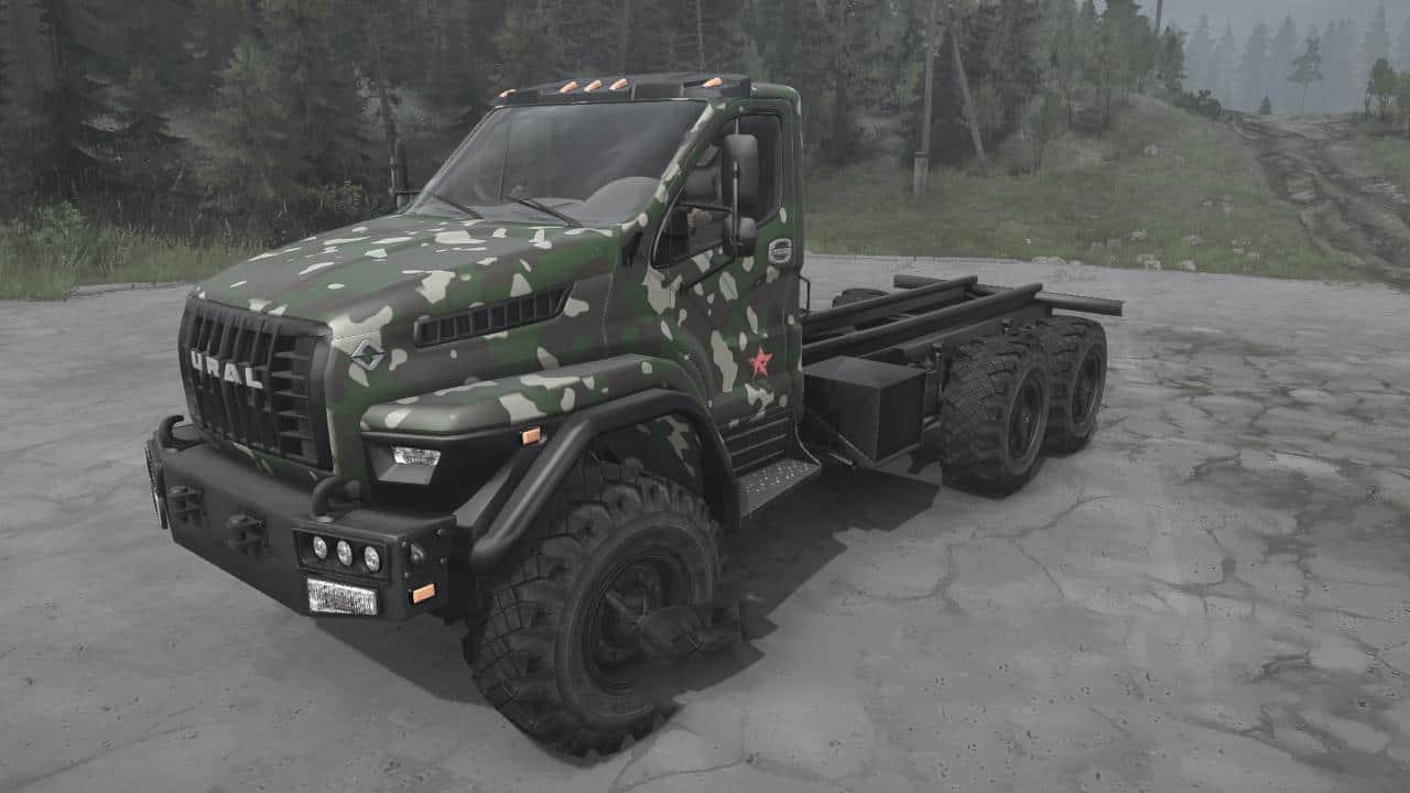 Spintires:Mudrunner - Ural Next AV Truck V08.02.19