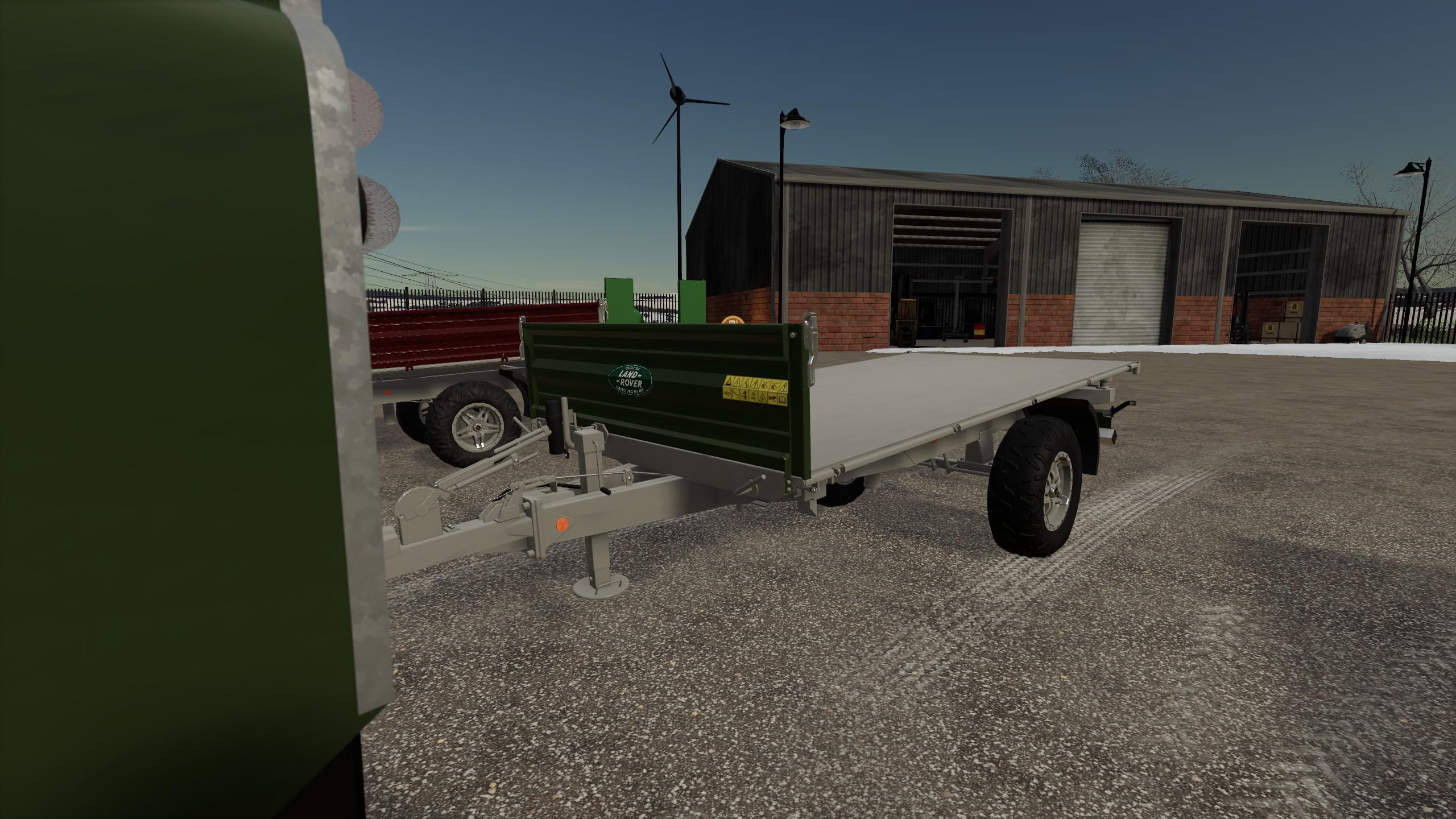 FS19 - Land Rover Trailer V1.0