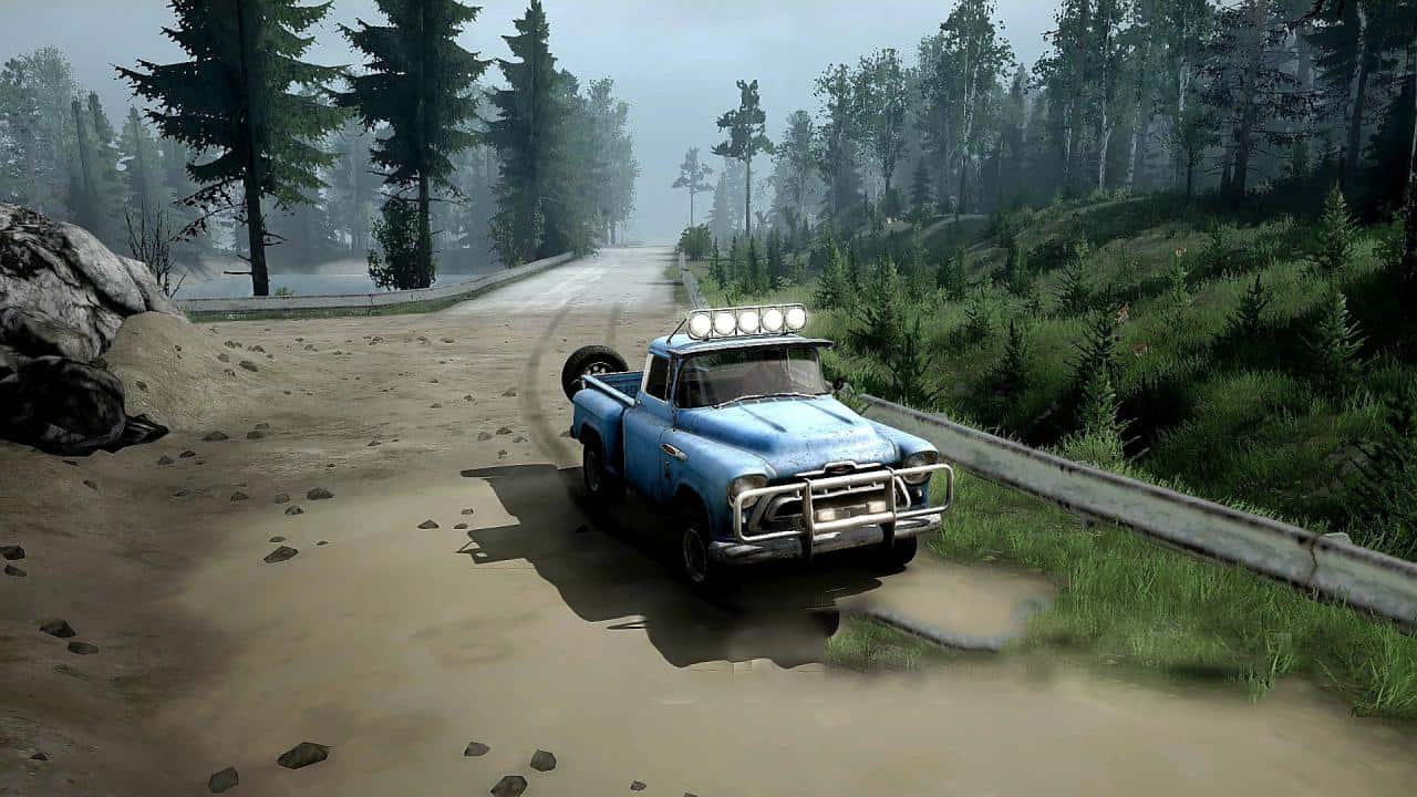 Spintires:Mudrunner - City Which Does Not Exist Map V1.0