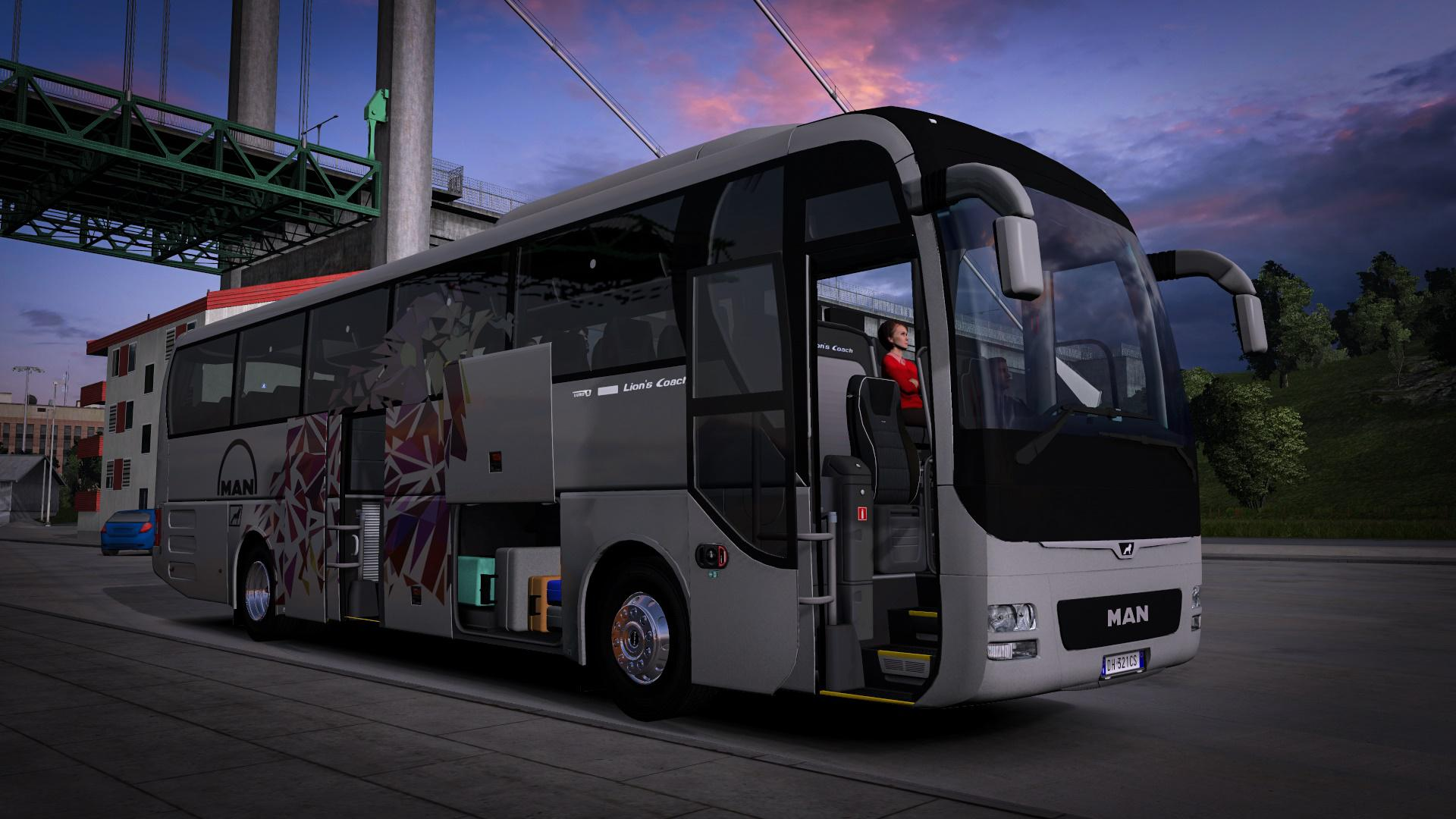 ETS2 - Man Lions Coach Bus (1.38.x)