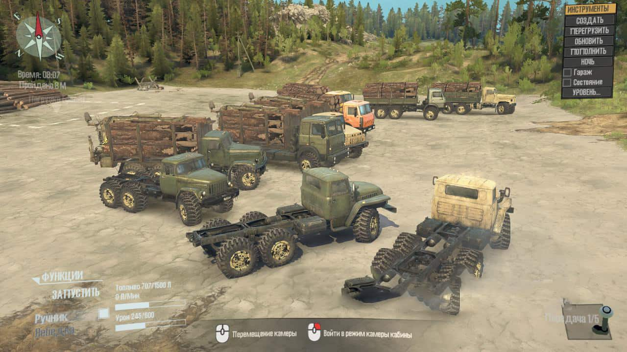 Spintires:Mudrunner - Off-Road Terrain Wheels v1.0