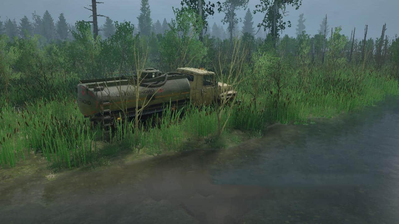 Spintires:Mudrunner - Swamp Chekulgan Map V1