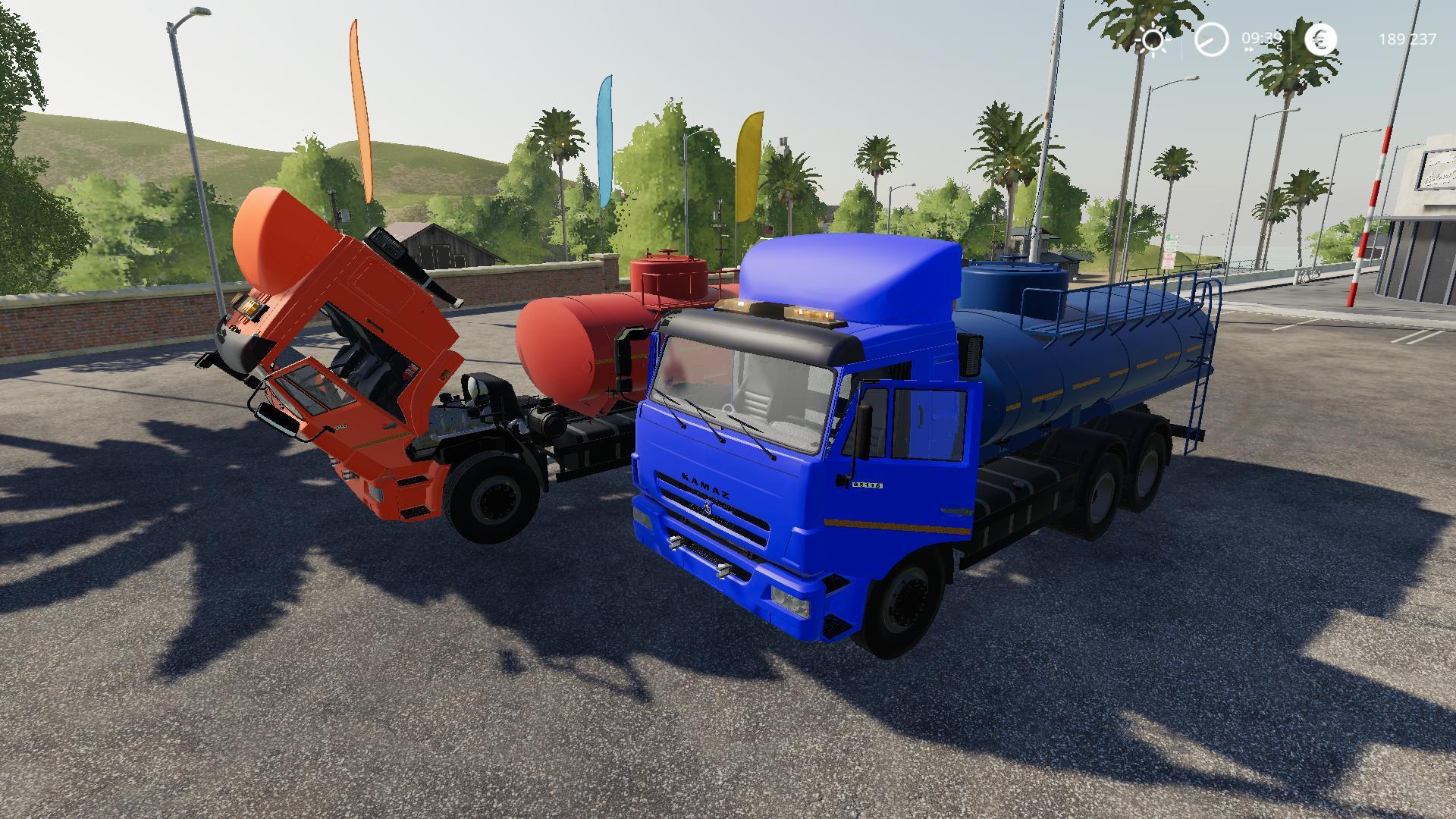 FS19 - Kamaz 65115 Fuel Truck V2