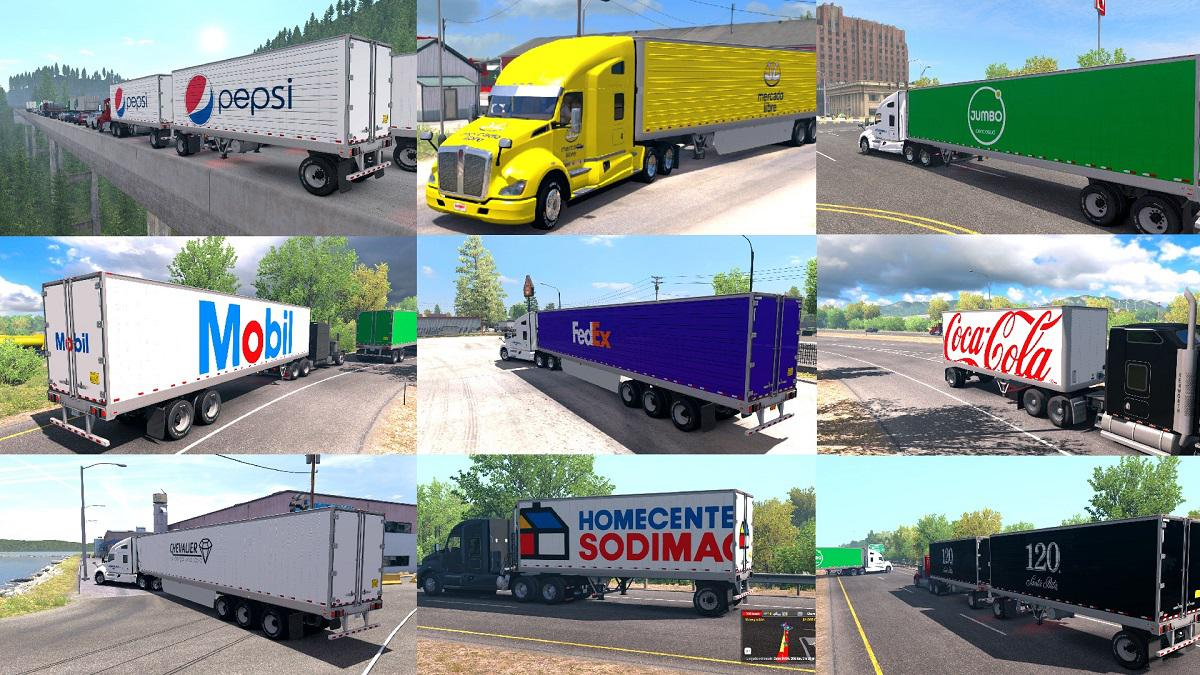 ATS - All Company Trailers Skins Pack (1.37 - 1.38)