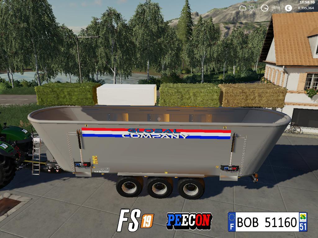 FS19 - Peecon Global Company AutoLoad V2.0