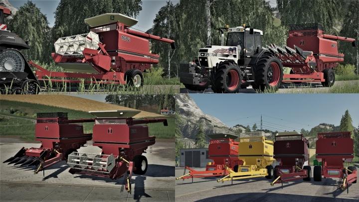 FS19 - IHC International Harvester Company PullType Combine V1.0