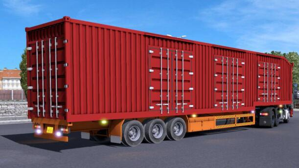 ETS2 - CHN 15M Freight Container (1.37.x)