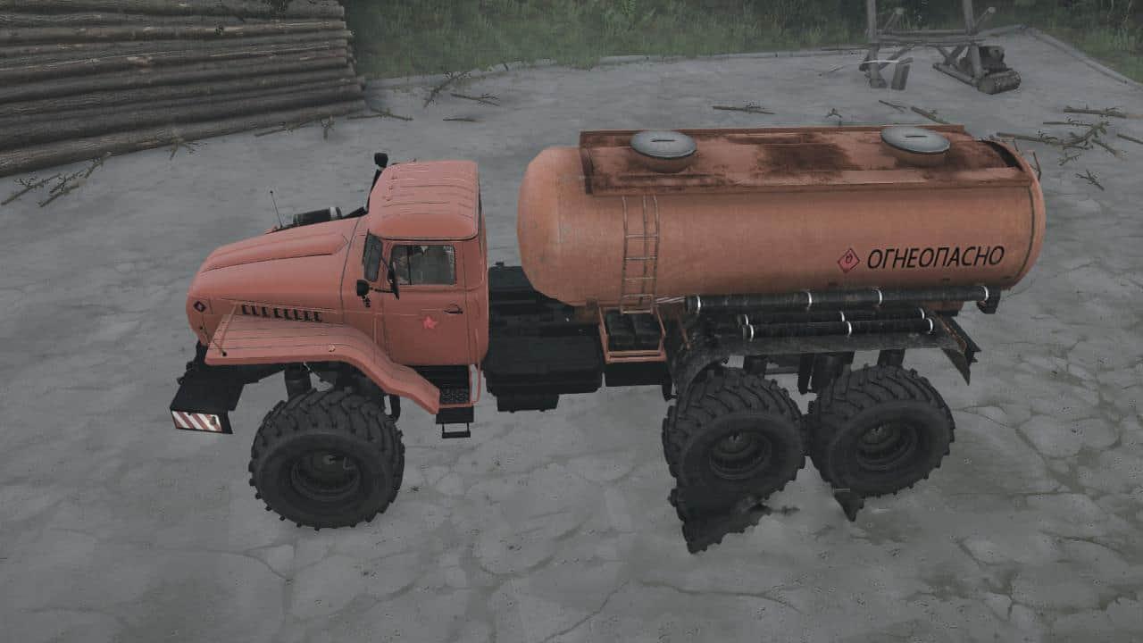 Spintires:Mudrunner - Ural Polar Explorer Pack V21.03.20