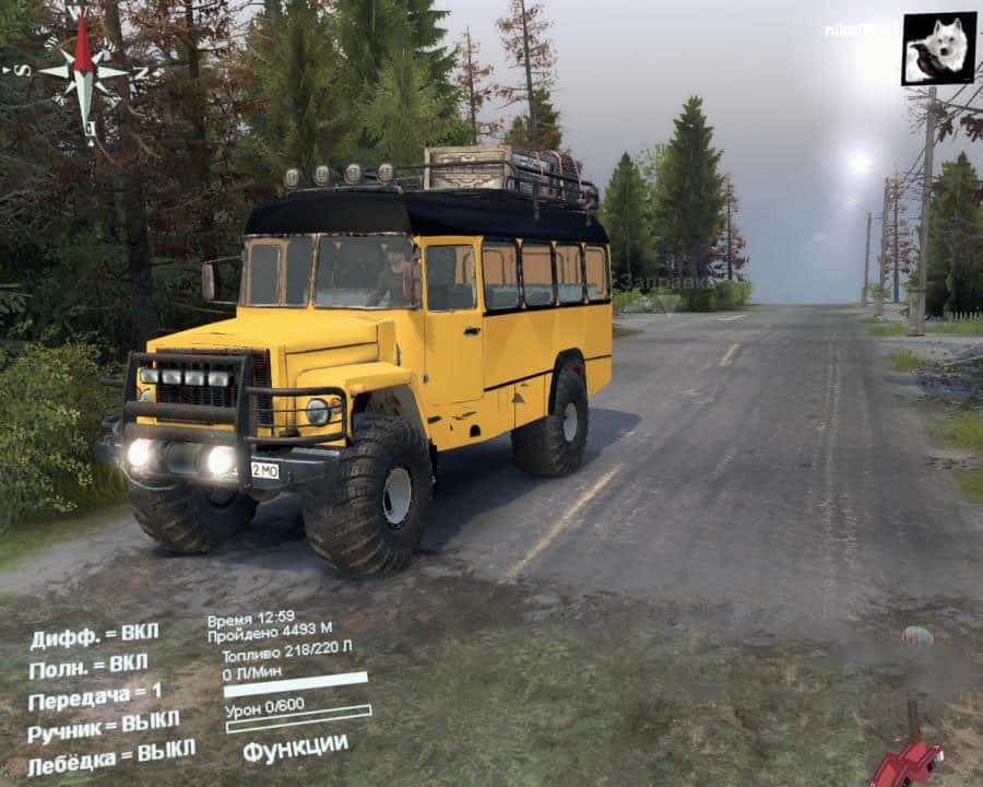 Spintires - Kavz 3976 V1.0