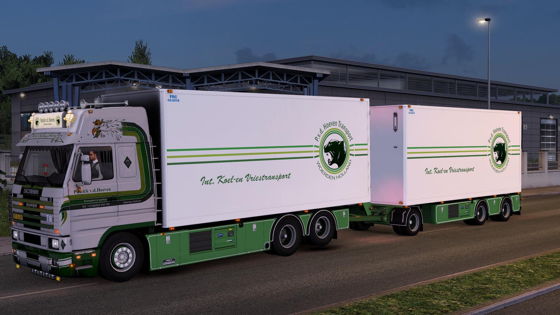 ETS2 - Scania 143M Patrick VD Hoeven (1.38.x)