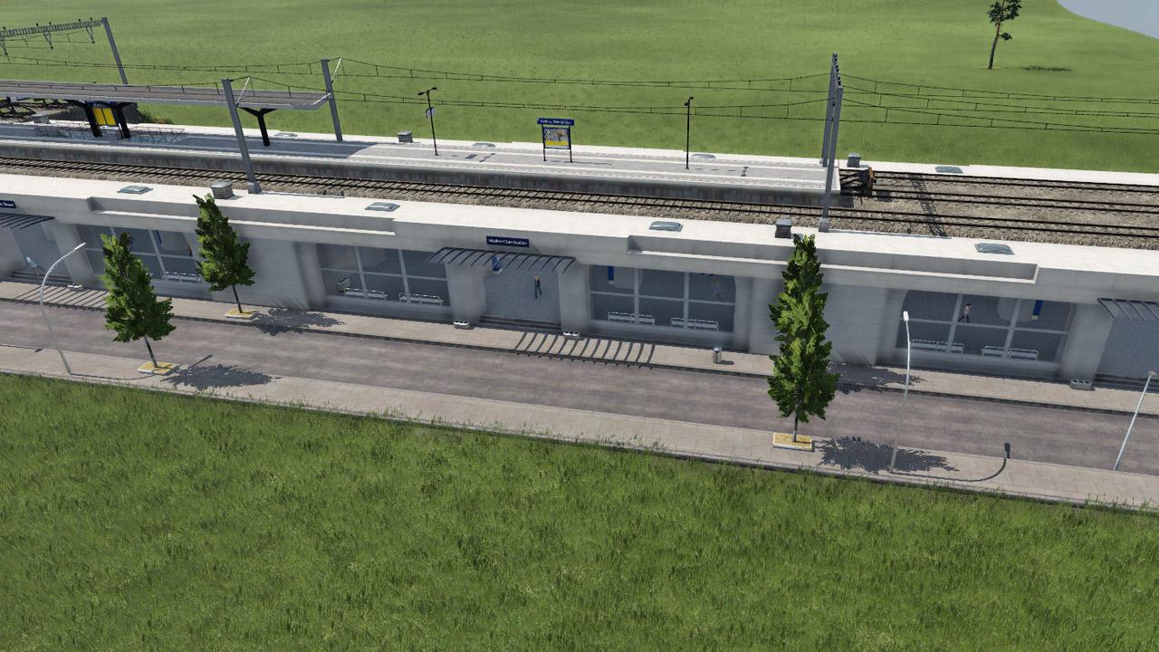 Transport Fever 2 - Dam Entrance Modules NL Modern Beta 1.12