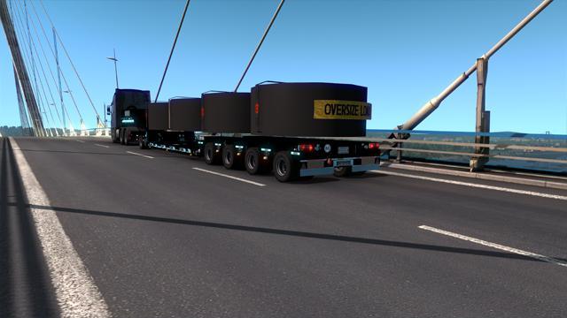 ETS2 - Goldhofer Black Trailer V1.0 (1.39.x)