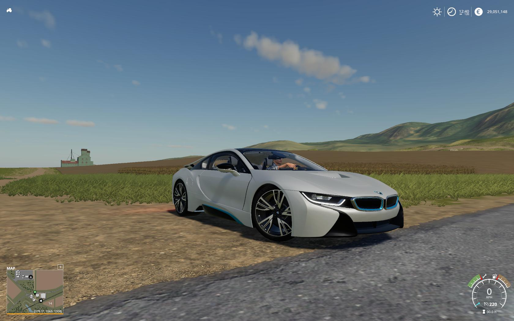 FS19 - BMW I8 Car Mod V1.0