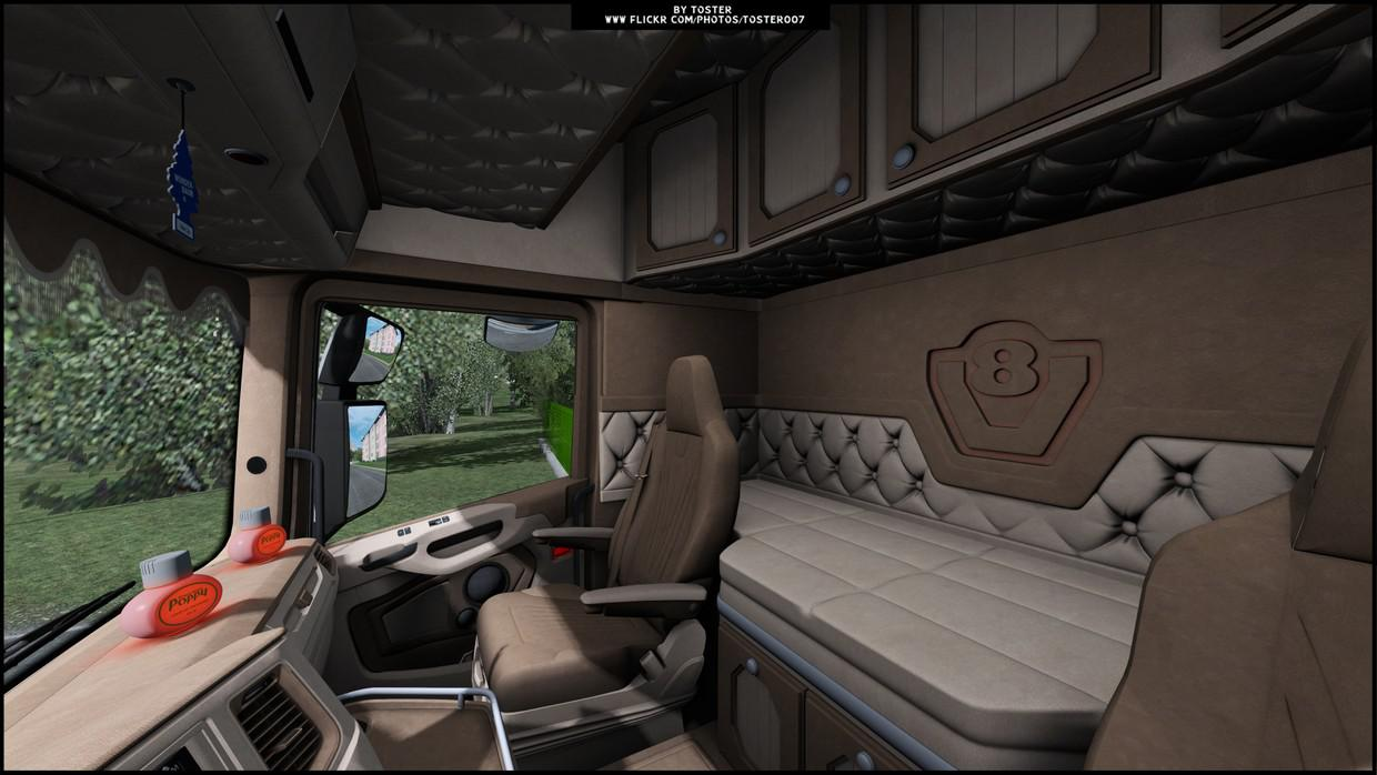 ETS2 - Scania NG S S.Verbeek (Op Windows) Interior (1.39.x)