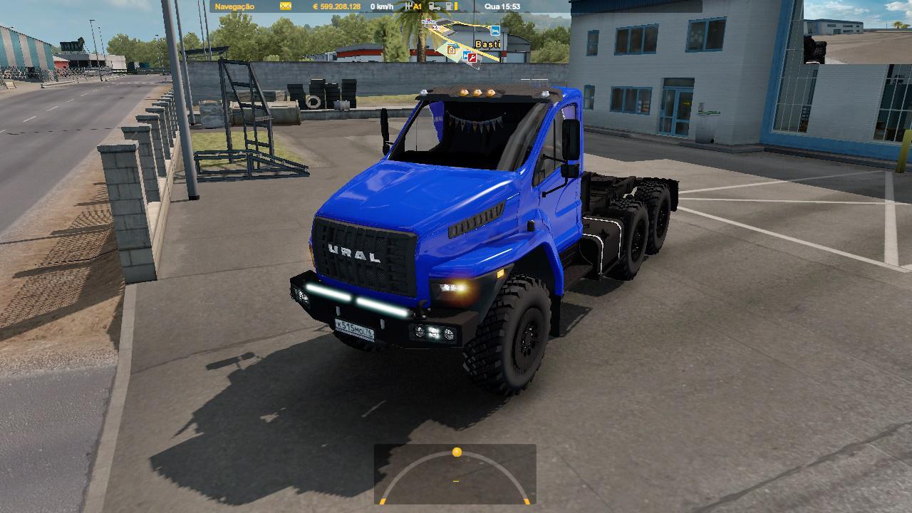 ETS2 - Ural Next Truck V2.0 (1.36.x)