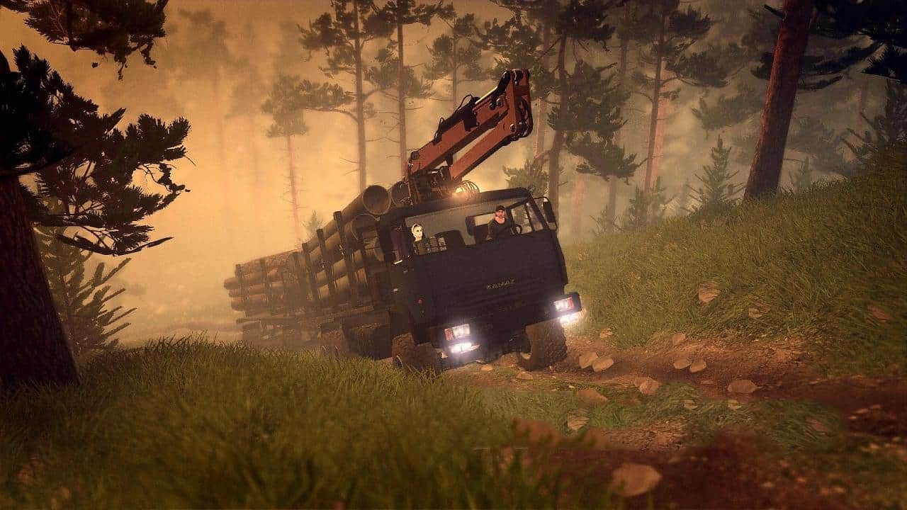 Spintires - Extreme Roads Map V1.0