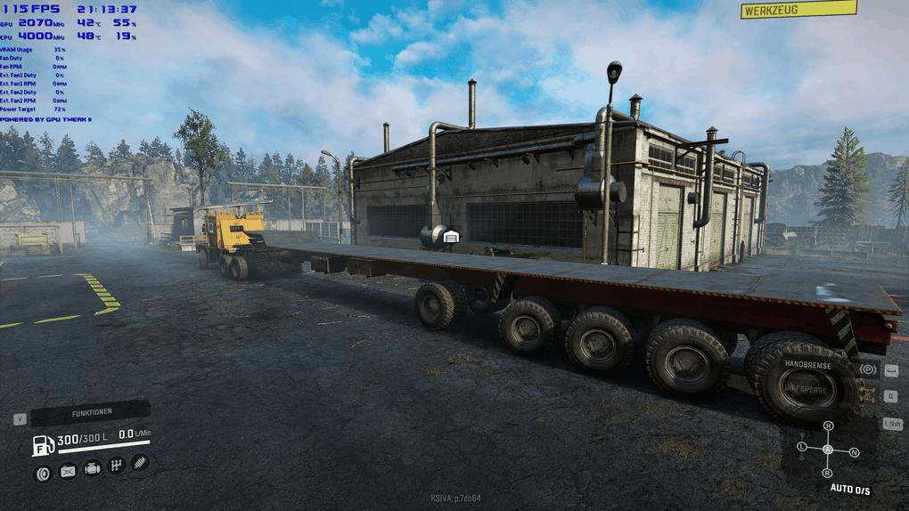 SnowRunner - Semitrailer Gooseneck 8 Steering Axle V1.0