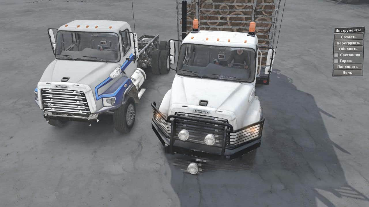 Spintires - Freightliner 114SD Truck V1