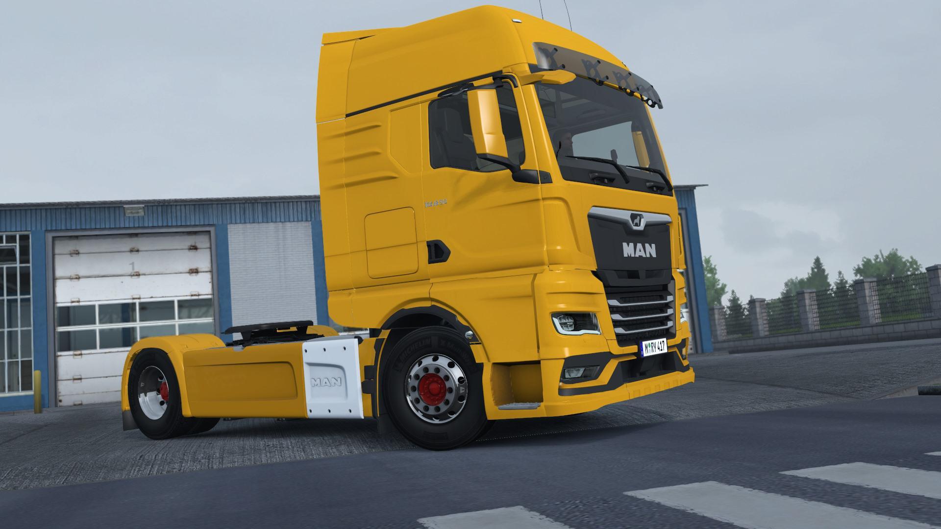 ETS2 - Man TGX 2020 Truck V1 (1.38.x)