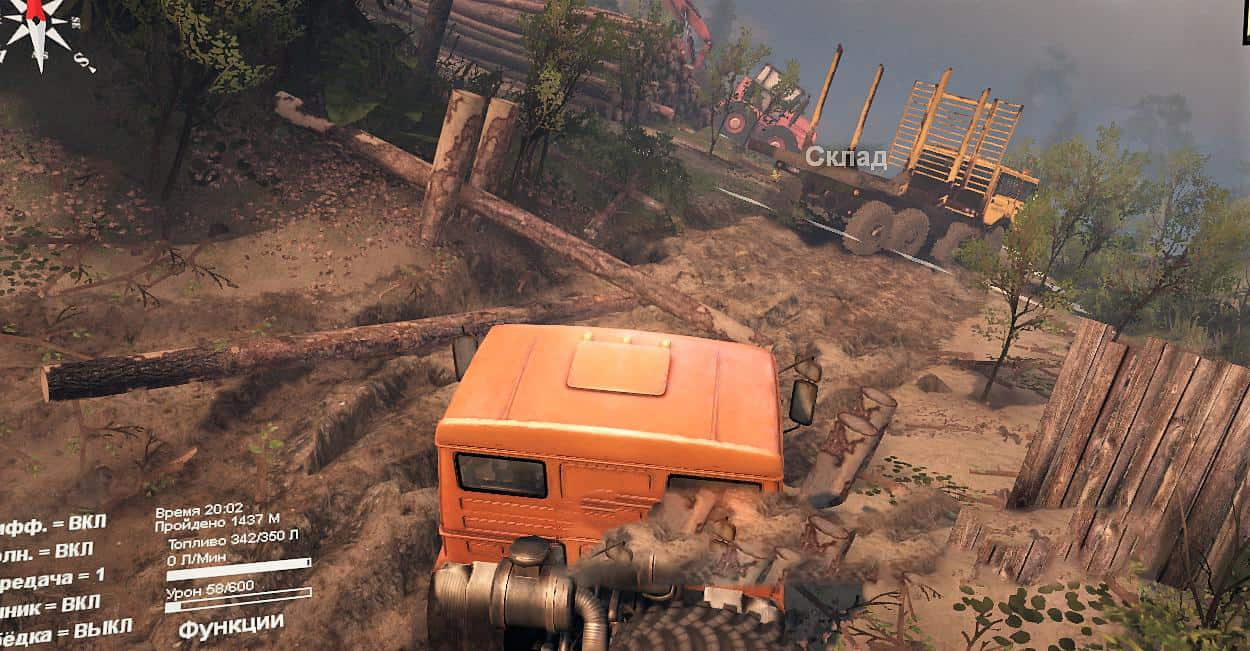 Spintires - How to Steal The Forest Map V1.0.0