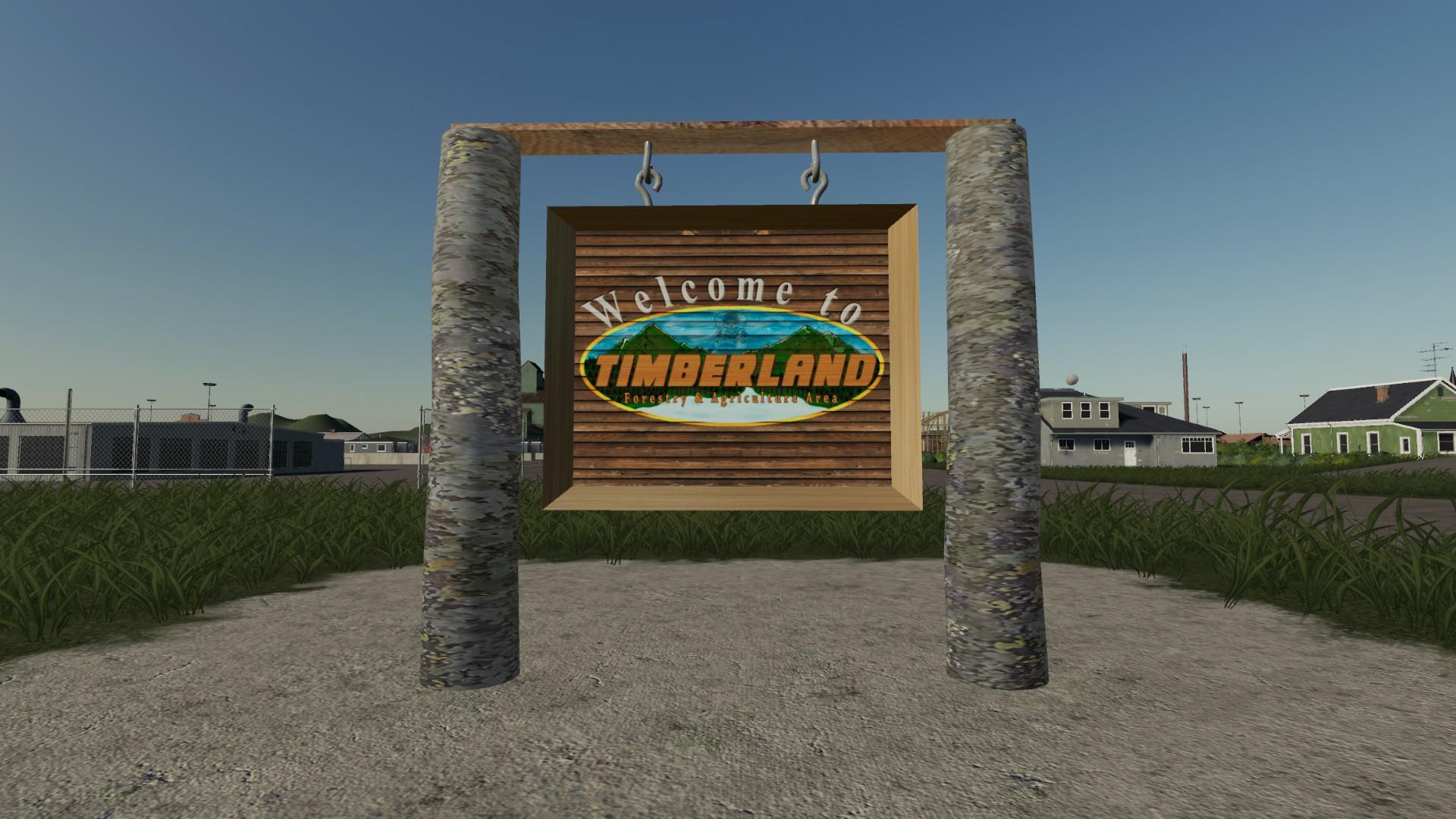 FS19 - Timberland Map V1.0