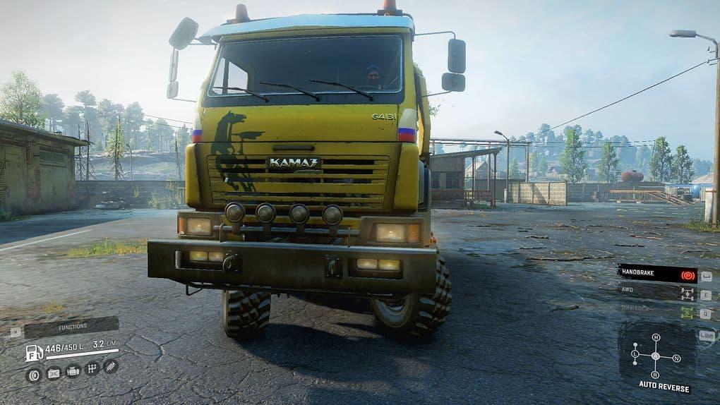 SnowRunner - Real Kamaz 64131 Truck V1.0