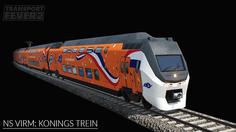 Transport Fever 2 - NS VIRM: Van B Naar A