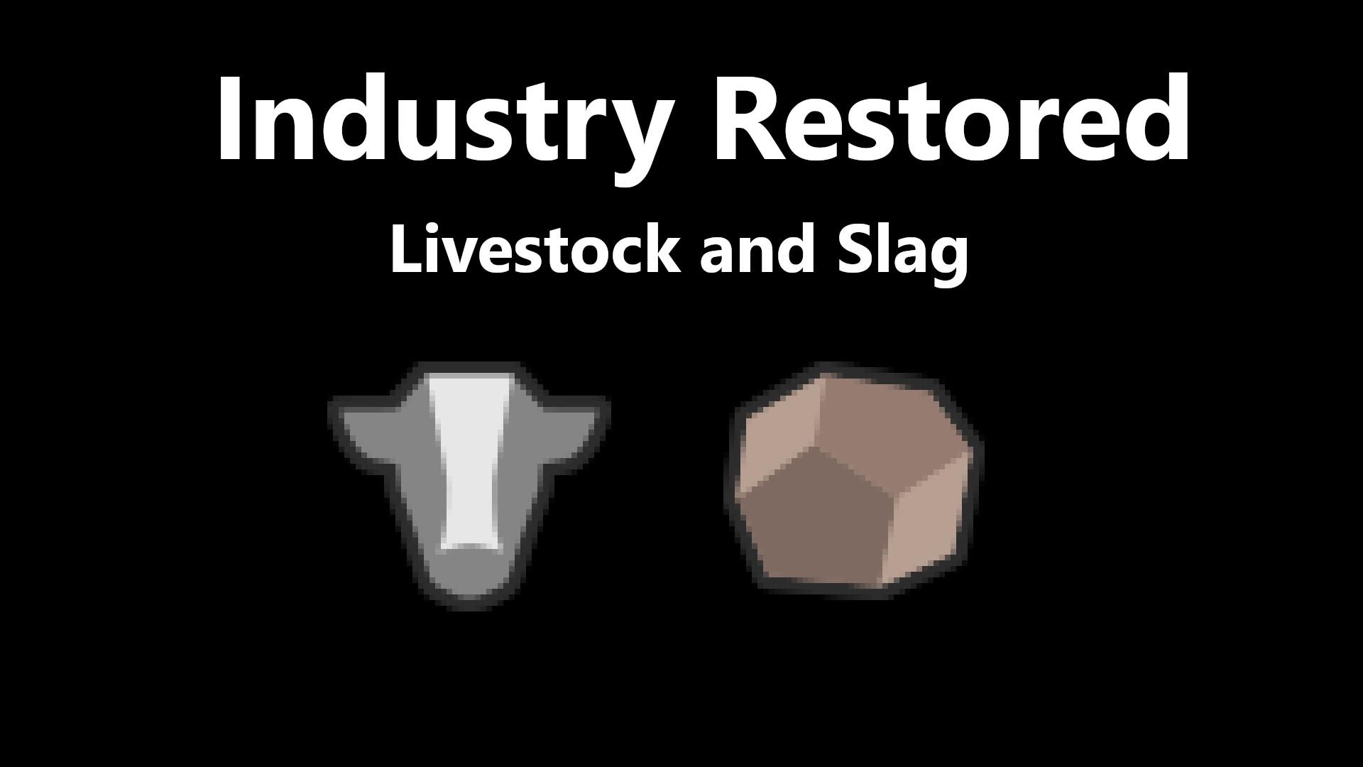 Transport Fever 2 - Industry Restored – Livestock and Slag