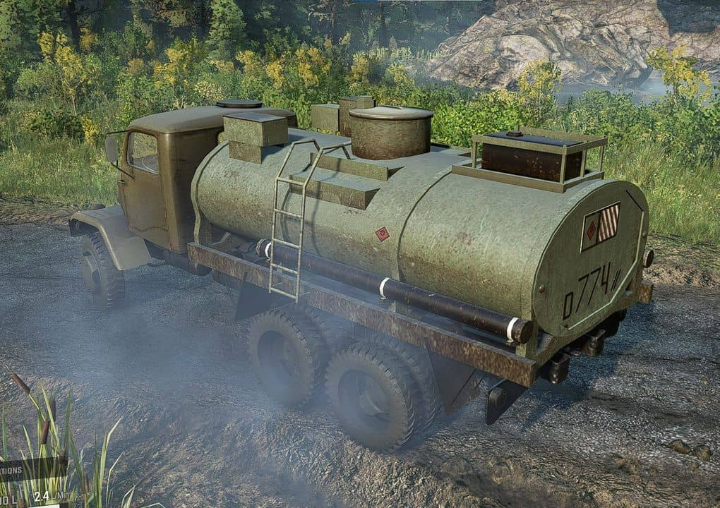 SnowRunner - Gapa 6x6 Army Truck V1.0