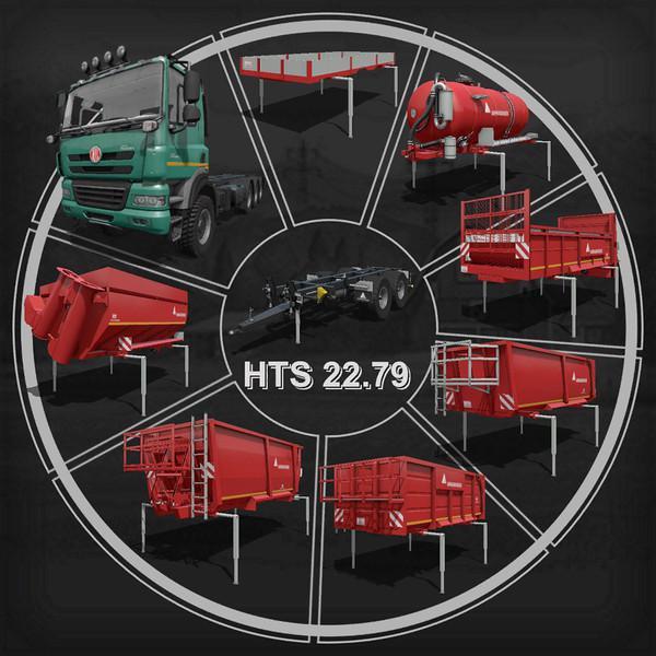 FS19 - Annaburger HTS 22.79 Base Transporter V1.1.1.0
