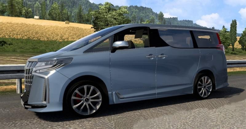ETS2 - Toyota Alphard V0.0.1 (1.39 - 1.40)