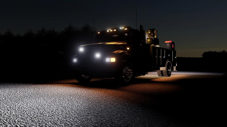 FS19 - International 4900 Service Truck V1.0