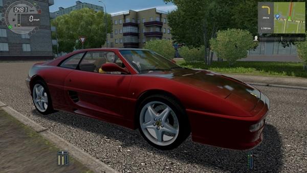 City Car Driving 1.5.9 - Ferrari F355 Berlinetta