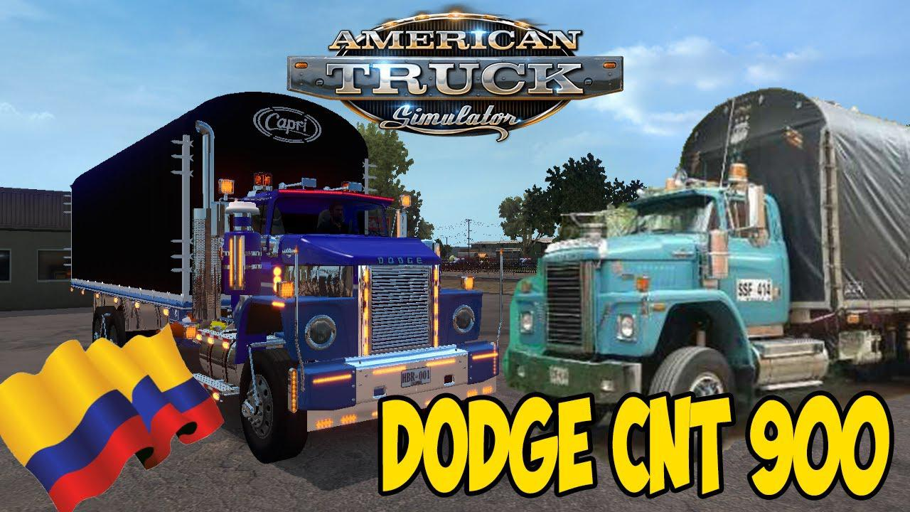 ATS - Dodge CNT 900 Colombiano V2 (1.37 - 1.38)