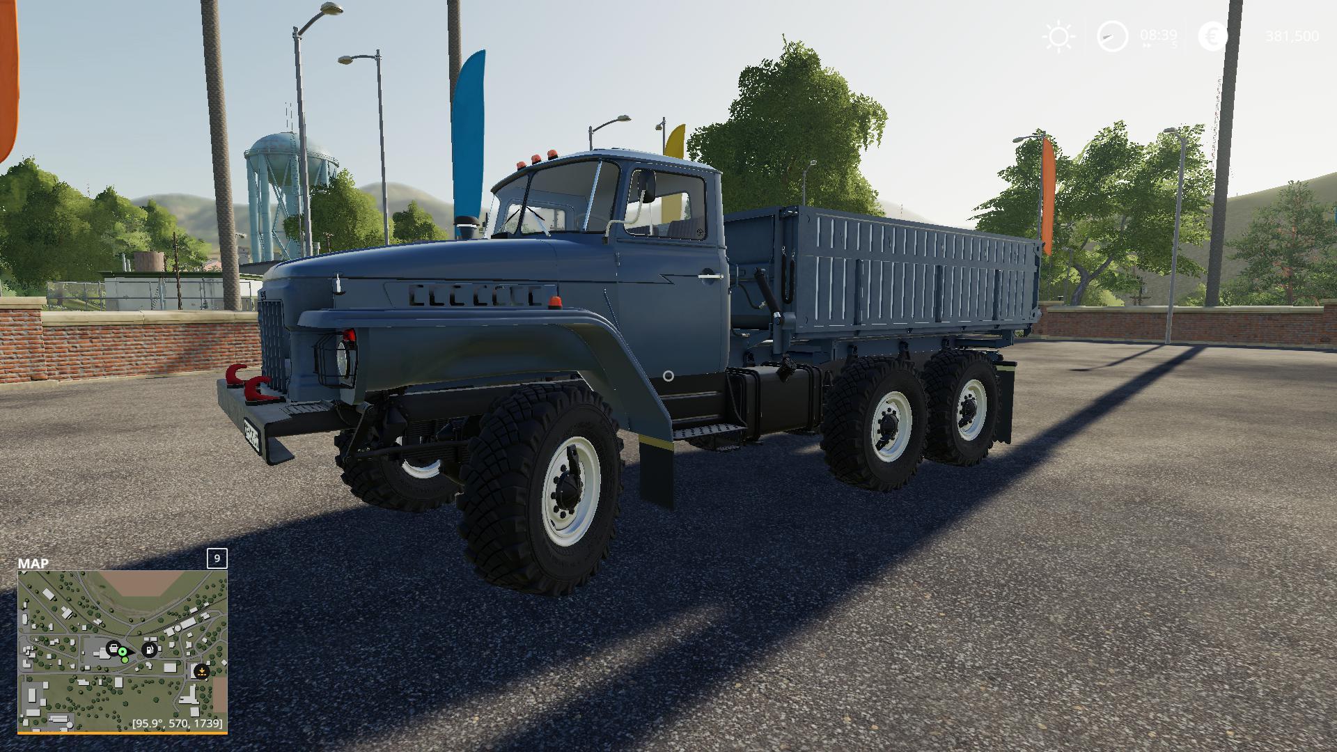 FS19 - Ural-5557/375 Truck V1.0.0.1