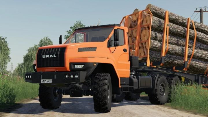 FS19 - Ural Next 44202 Truck V1.0