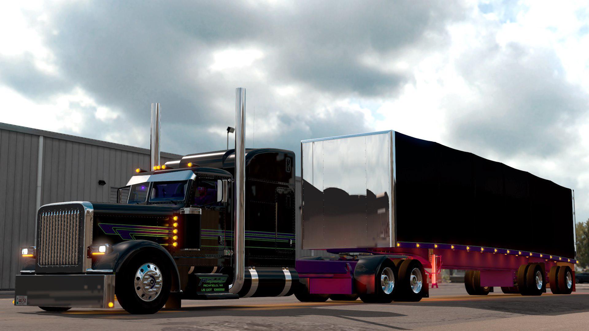 ATS - Peterbilt 389 SCS Reworked Truck V1.0 (1.39.x)