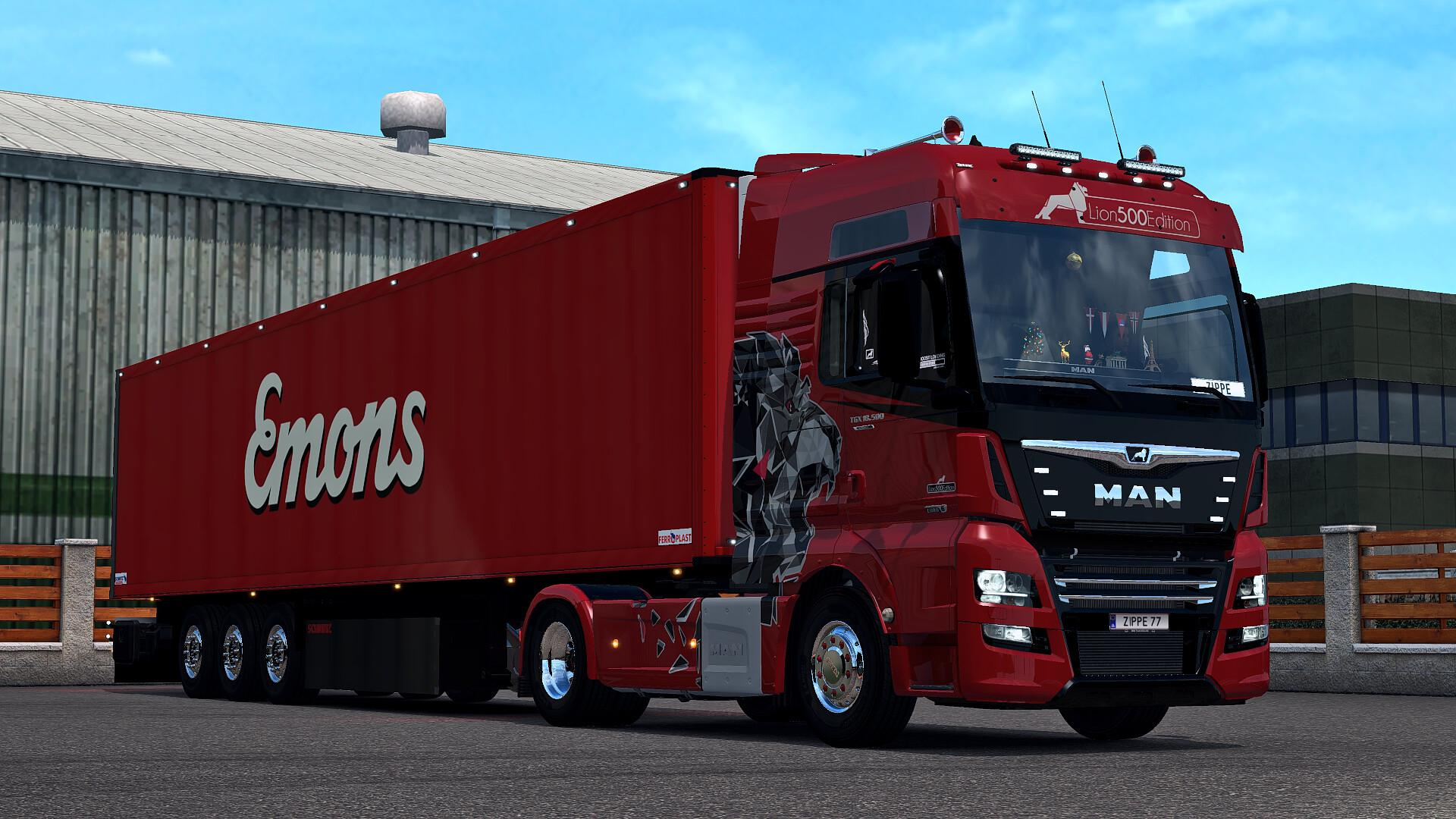 ETS2 - Save Game No DLC Support Multiplayer (1.35.x)