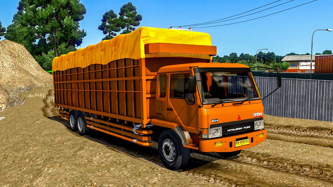ETS2 - Mitsubishi Fuso FN 517 Truck (1.36 - 1.37)