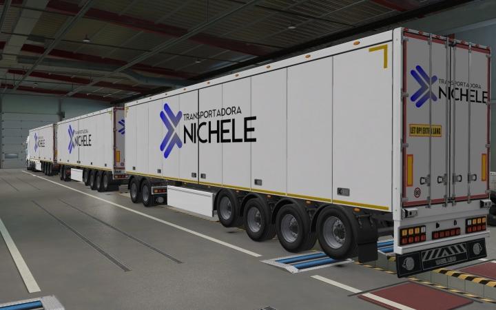 ETS2 - SCS Trailers Transportadora Nichele Skin (1.40.x)
