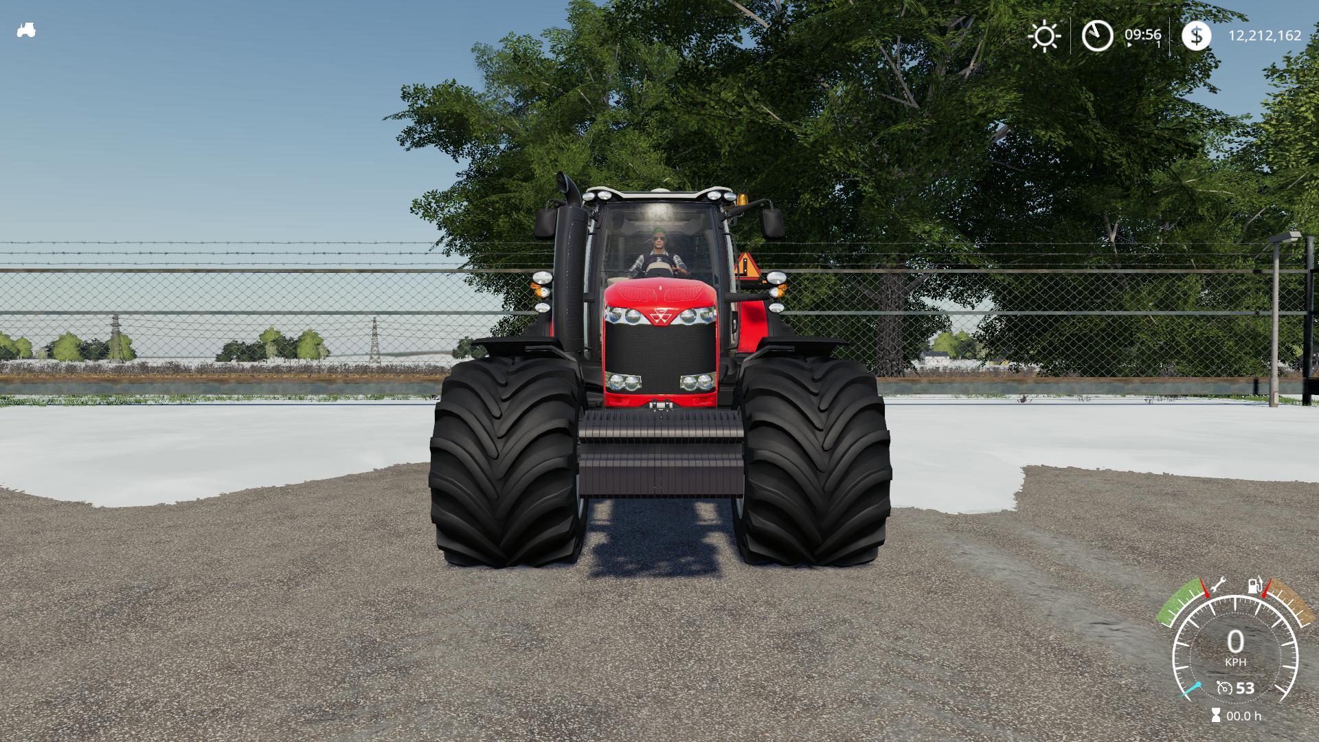 FS19 - Massey Ferguson 8700 US Tractor V1.0