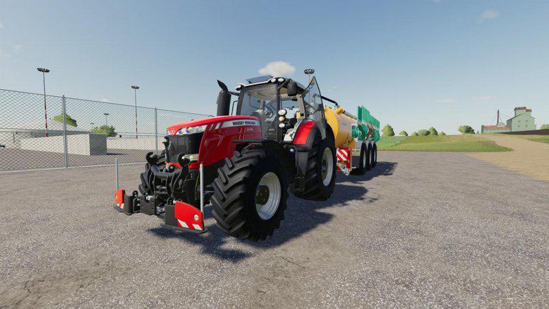 FS19 - Massey Ferguson  8700 Tractor V1.0.1.0