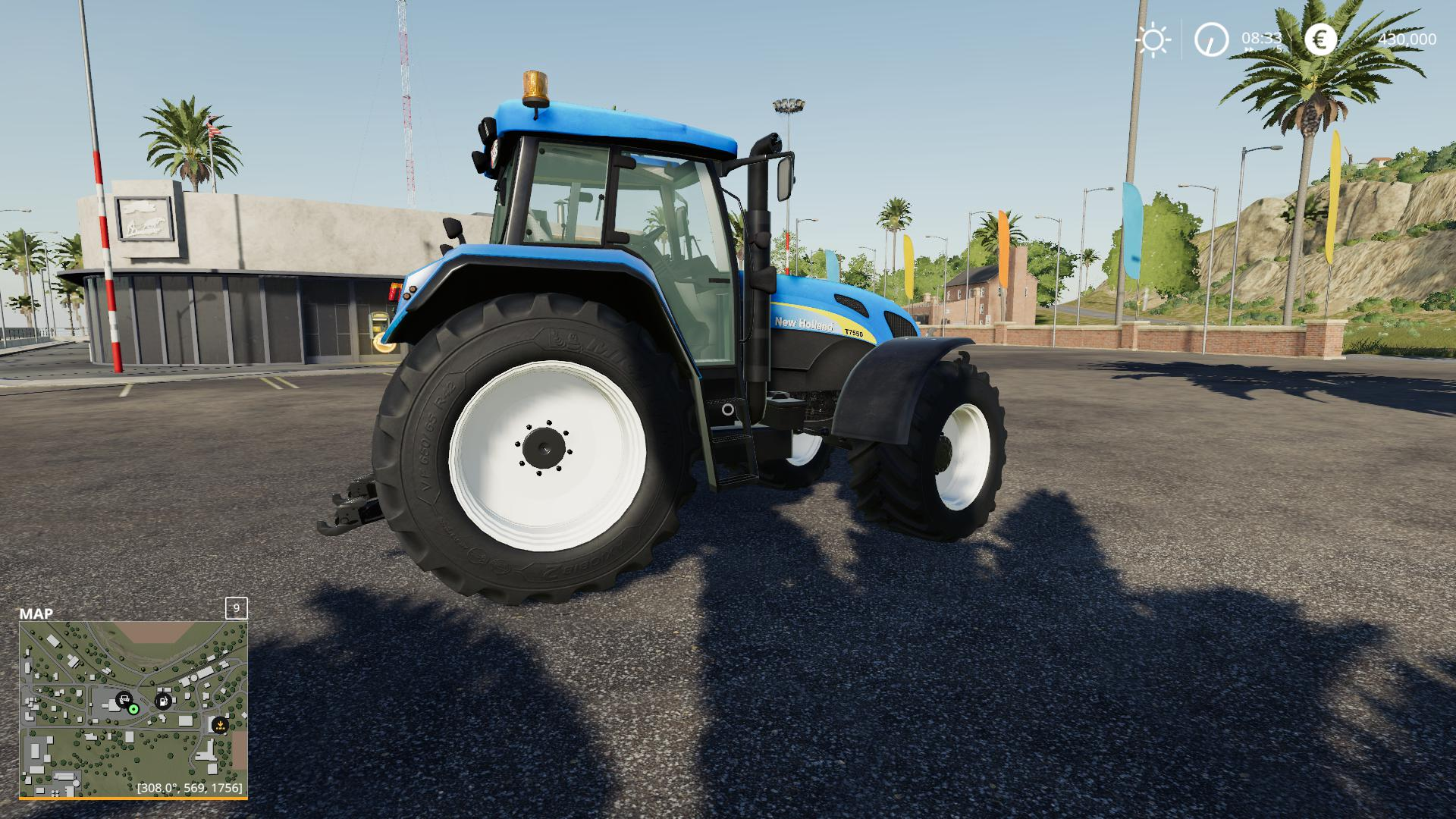 FS19 - New Holland 7550 Tractor V1.0