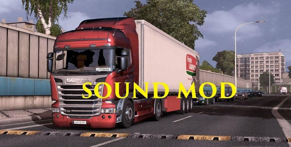 ETS2 - Sound Pack (1.36.x)