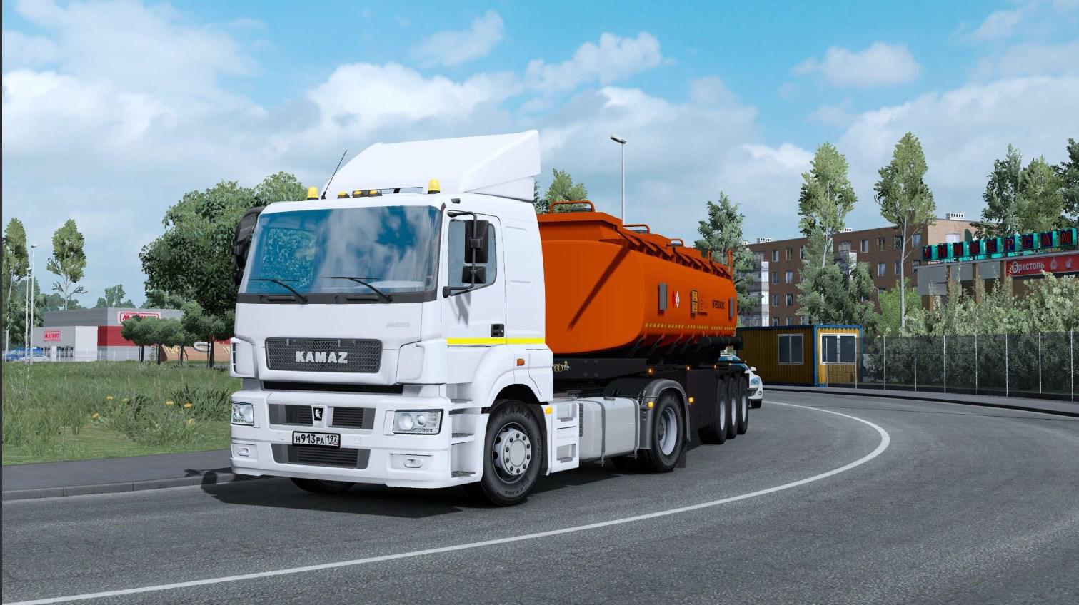 ETS2 - Kamaz 5490/65206 Truck V2.0 (1.36.x)