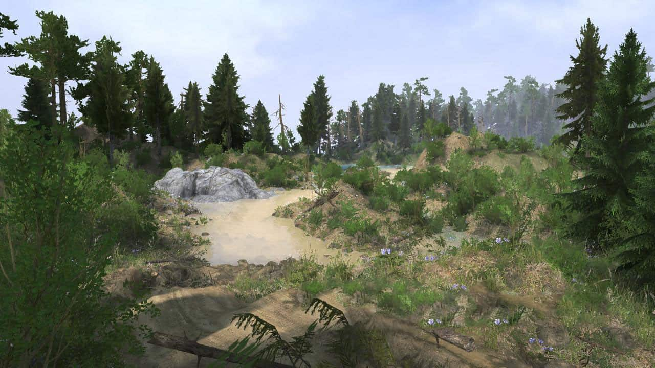 Spintires:Mudrunner - SVE23: Earthquake Area Map V1.0