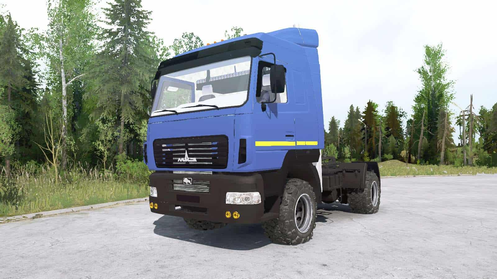 Spintires:Mudrunner - Mas 5440C9-570-030 Truck