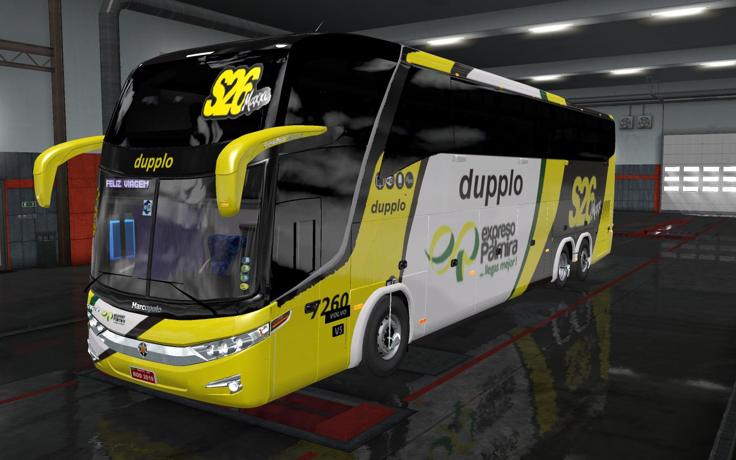 ETS2 - Volvo Marcopolo G7 1600 LD Bus Mod (1.35.x)